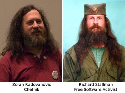 "Is Richard Stallman leading a secret life as Serbian Nationalist ""Chetnik"""
