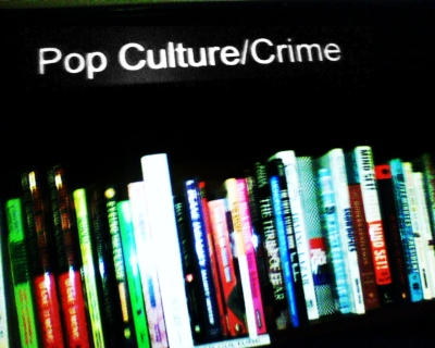 Pop Culture / Crime section heading in Housing Work